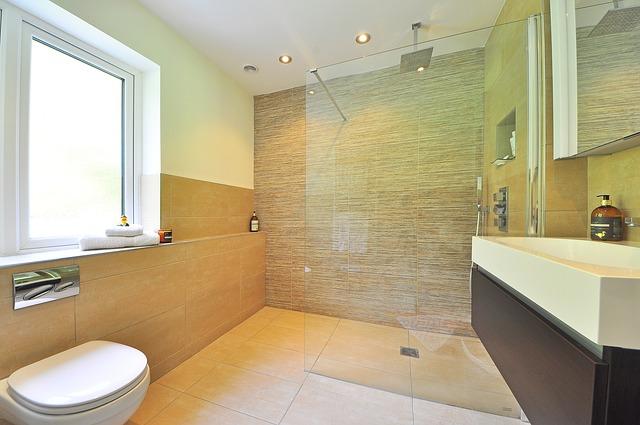 skleněný sprchový kout