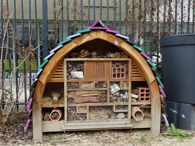 domeček na dřevo