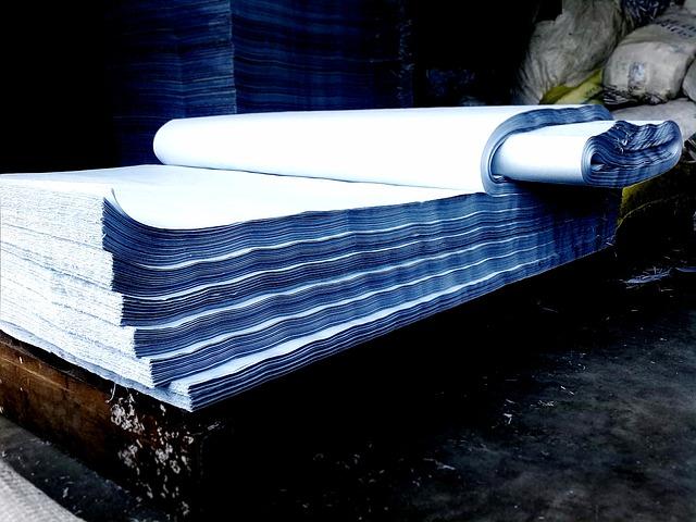 stoh papíru