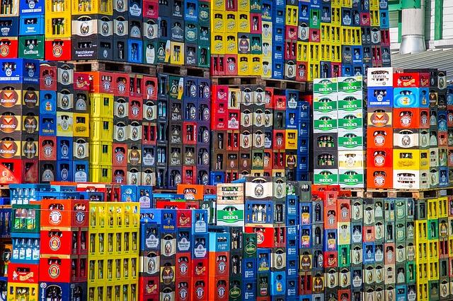 nápojové přepravky