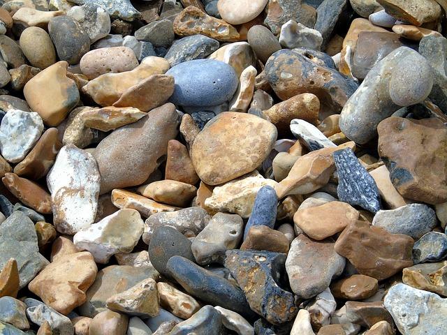 kamenné oblázky