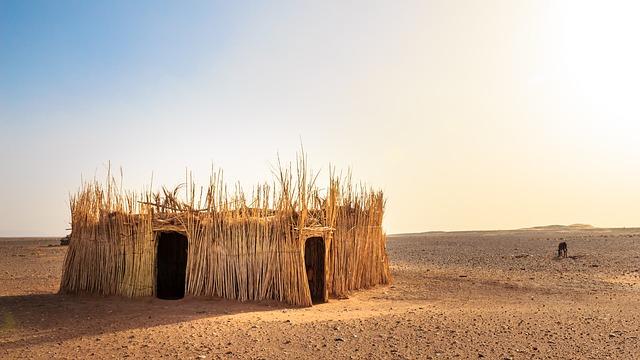 pouštní domek