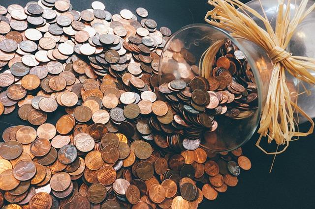 mince z vázy