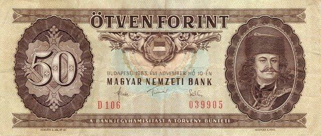 maďarská bankovka