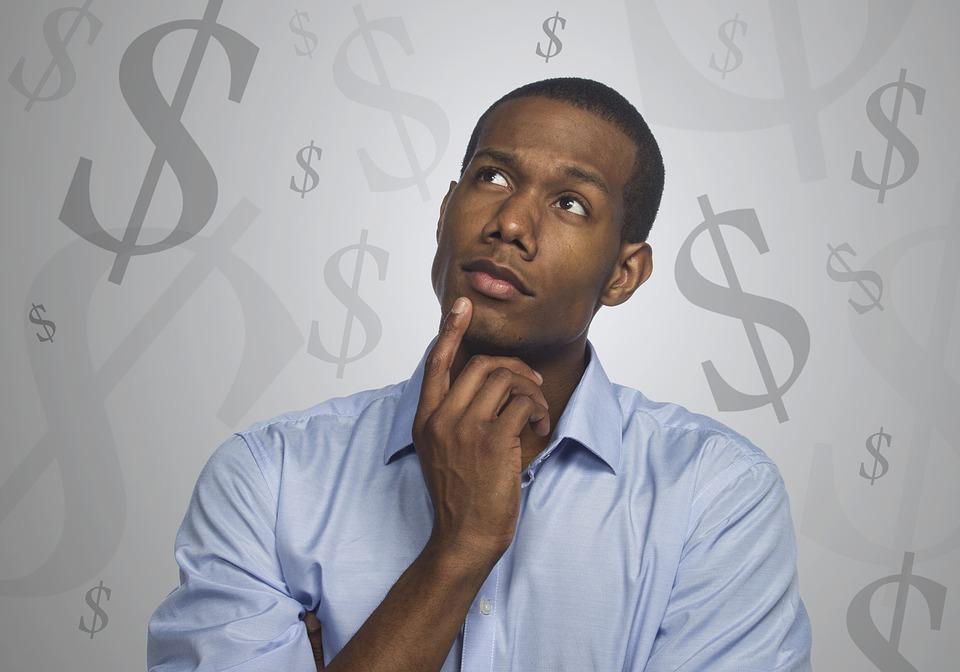 myšlení o penězích