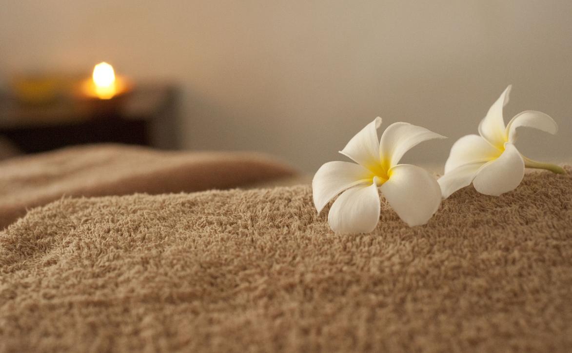 příprava na masáž