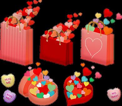 tašky srdce